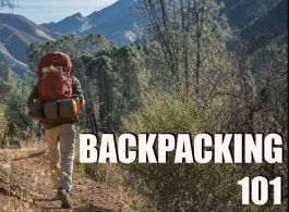 Sept 30  Backpacking 101 - In-Store
