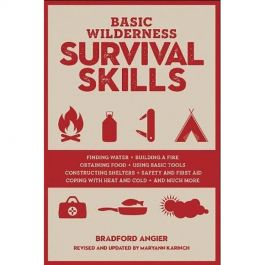 Basic Wilderness Survival Skills, by Bradford Angier 424 pages