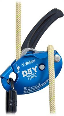Yates ISC D5Y Descender/Belay Device