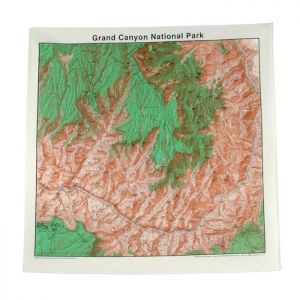 Liberty Mountain The Printed Image TOPOGRAPHIC MAP BANDANAS