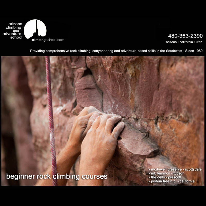 Beginner I Rock Climbing Course - AZ Climbing & Adventure School