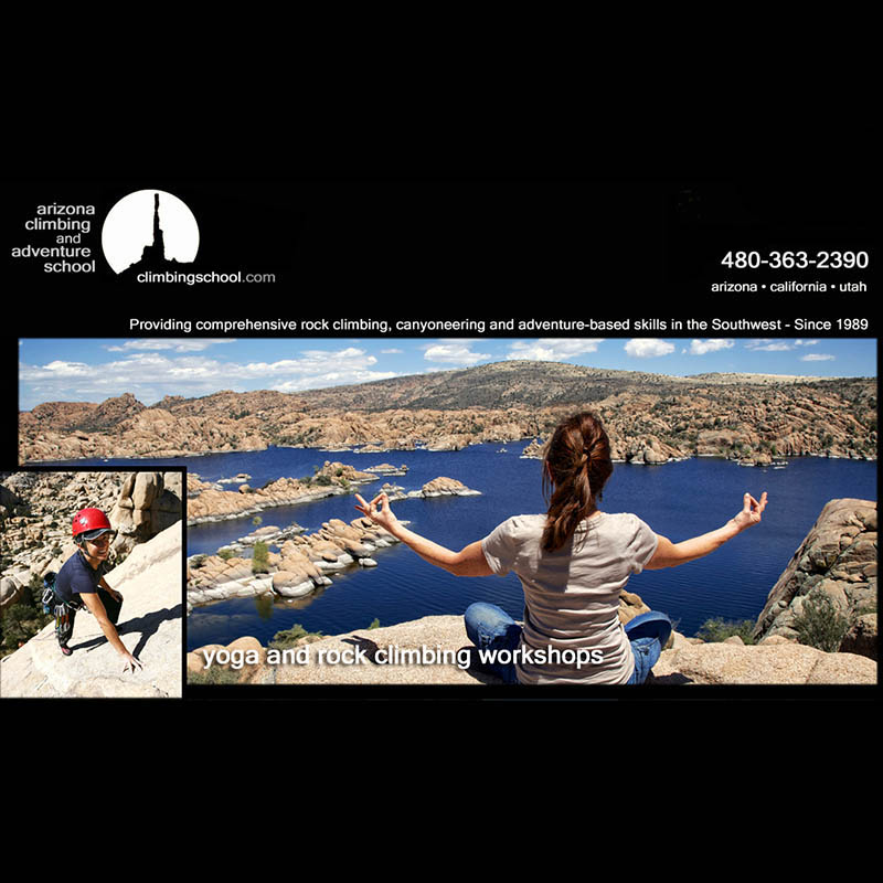 Yoga & Rock Climbing Workshop - AZ Climbing & Adventure School