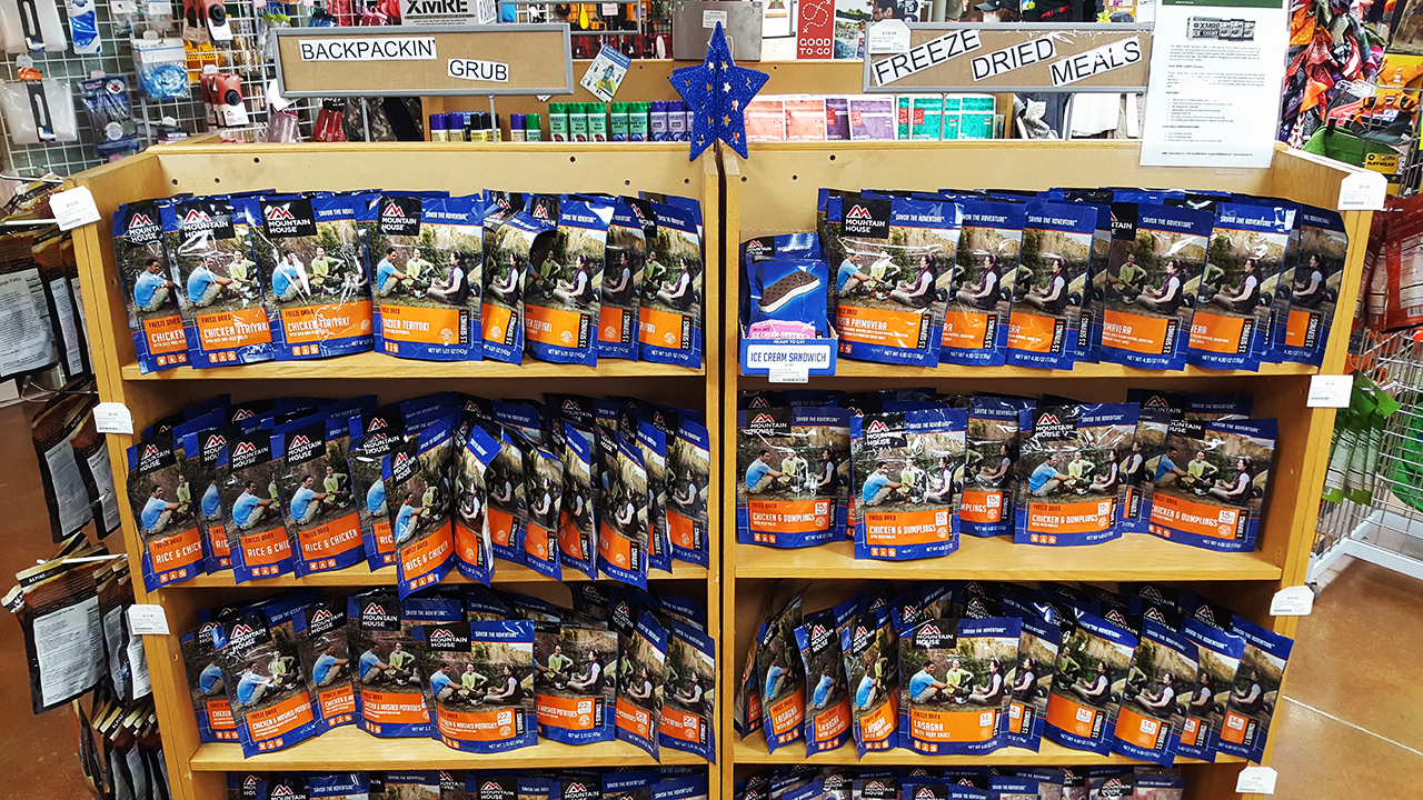 Great Tasting Freeze Dried Food Options for the Outdoors