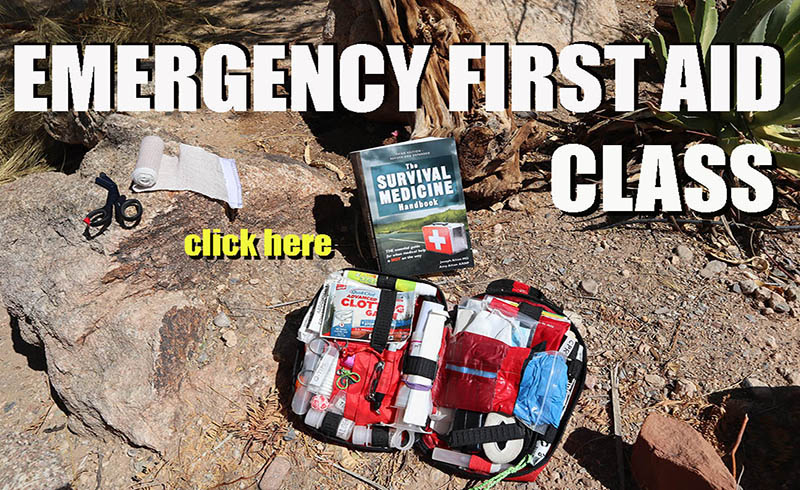 Emergency First Aid Class